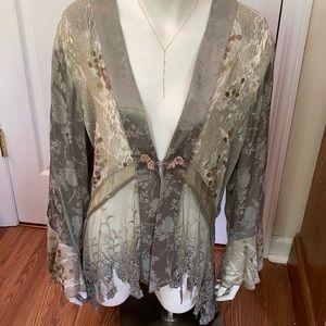Vintage, Romantic Spencer Alexis kimono/jacket